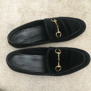 Gucci Shoes - Gucci Jordaan Velvet Loafer